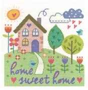 DMC Home Sweet Home Cross Stitch Kit
