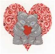 DMC Love Bears Wedding Sampler Cross Stitch Kit
