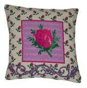 Rosebud Value Cushion Front - Anette Eriksson Cross Stitch Kit