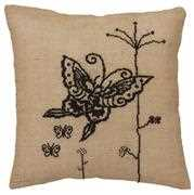 Anette Eriksson Butterfly Premium Cushion Kit Cross Stitch