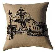 Anette Eriksson La Fountaine Premium Cushion Kit Cross Stitch