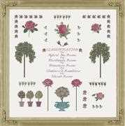 Anette Eriksson Rose Sampler Cross Stitch Kit