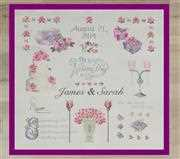 Wedding Sampler - Anette Eriksson Cross Stitch Kit