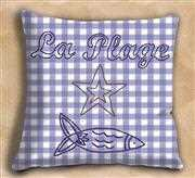 La Plage Value Cushion Front - Anette Eriksson Embroidery Kit