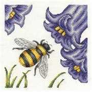 DMC Bee and Bluebells Cross Stitch Kit