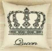 Queen Value Cushion Front - Anette Eriksson Cross Stitch Kit