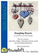 Mouseloft Dangling Hearts Cross Stitch Kit