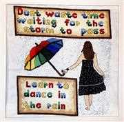 Dance in the Rain - Emma Louise Art Stitch Cross Stitch Kit