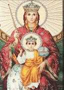 Icon Mother of God Reigning - Luca-S Cross Stitch Kit