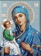 Luca-S Icon Mother of God in Jerusalem Cross Stitch Kit