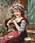 The Little Kitten - Luca-S Cross Stitch Kit