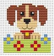 Sew Simple Dog - Fat Cat Cross Stitch Kit