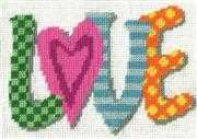 Love - Design Works Crafts Tapestry Kit