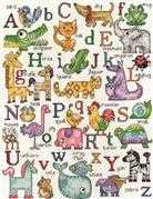ABC Animals - Design Works Crafts Cross Stitch Kit