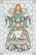 Jim Shore Seashell Angel - Design Works Crafts Cross Stitch Kit