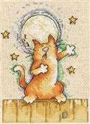 Singing Cat - Design Works Crafts Cross Stitch Kit