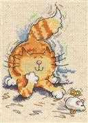 Cat and Mouse - Design Works Crafts Cross Stitch Kit