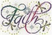 Faith - Design Works Crafts Cross Stitch Kit