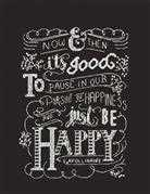Just Be Happy - Design Works Crafts Cross Stitch Kit