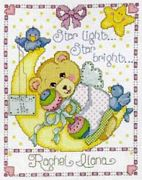 Moon Baby Sampler - Design Works Crafts Cross Stitch Kit