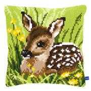 Little Deer Cushion - Vervaco Cross Stitch Kit