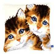 Kittens Cushion - Vervaco Cross Stitch Kit