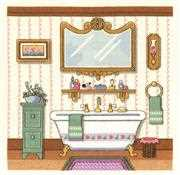 Janlynn Victorian Bath Cross Stitch Kit