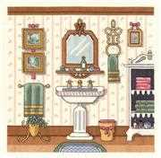 Janlynn Victorian Sink Cross Stitch Kit