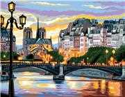 Royal Paris Paris Scene Tapestry Canvas