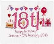 18th Numbers Birthday