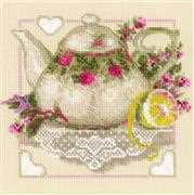 RIOLIS Tea with Lemon Cross Stitch Kit