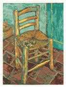 Van Gogh's Chair - DMC Cross Stitch Kit