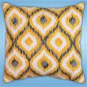 Yellow Ikat - Design Works Crafts Tapestry Kit