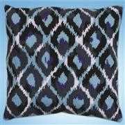 Design Works Crafts Blue Ikat Tapestry Kit