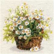 RIOLIS Russian Daisies Cross Stitch Kit
