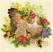 RIOLIS Hen Cross Stitch Kit