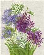 RIOLIS Allium Cross Stitch Kit