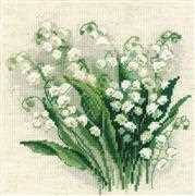 RIOLIS Lily of the Valley Cross Stitch Kit
