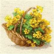 RIOLIS Yellow Rapeseed Cross Stitch Kit