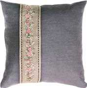 Luca-S Rose Band Pillow Cross Stitch Kit