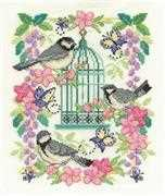 DMC Oriental Birdcage Cross Stitch Kit