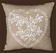 Heart Candlewick Pillow - Design Works Crafts Embroidery Kit