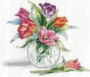 Design Works Crafts Tulips Cross Stitch Kit