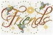 Design Works Crafts Friends Cross Stitch Kit