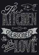 Kitchen Chalkboard - Design Works Crafts Cross Stitch Kit