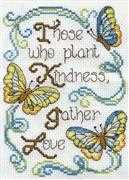 Butterfly Kindness - Design Works Crafts Cross Stitch Kit