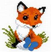 RIOLIS Little Fox Cross Stitch Kit