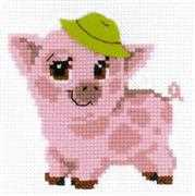 RIOLIS Piglet Cross Stitch Kit