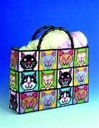 Design Works Crafts Cat Plastic Canvas Tote Tapestry Kit