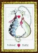 Design Works Crafts Purrfect Together Cross Stitch Kit